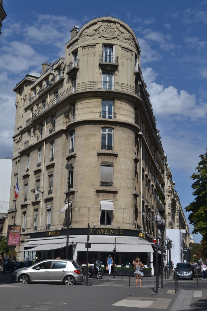 Avenida Montaigne, la sofisticación